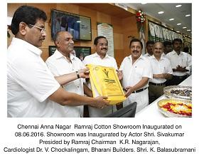 Ramraj Cotton Showroom Inauguration @ Anna Nagar, Chennai 08.06.2016